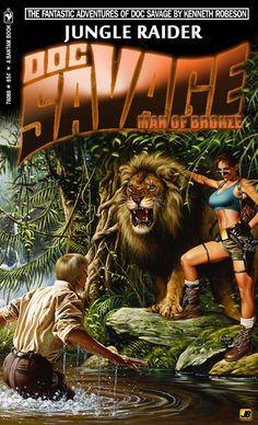Doc Savage: Laura Croft Superhero Fan Art