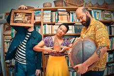 O trio de jazz com afro sonoridades brasileiras disponibiliza seu segundo álbum para download
