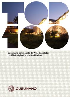 Cusumano top 100 wineries