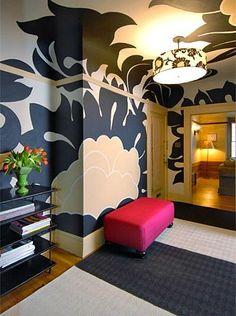 Contemporary (Modern, Retro) Foyer by Anastasia Faiella