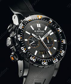 Edox | Class-1 Ice Shark | Edelstahl PVD-beschichtet | Uhren-Datenbank watchtime.net