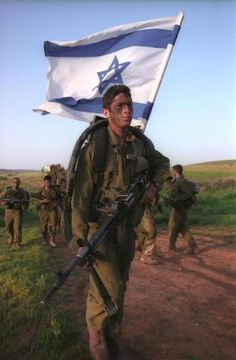 The citizens of Israel who are ready to defend their home and family. I respect their commitment.
