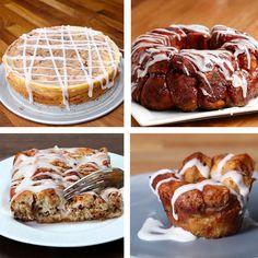 6 Cinnamon Roll Recipes