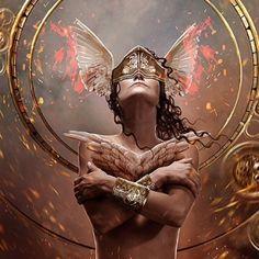 the-digital-art-of-carlos-quevedo (23) Medieval Fantasy, Dark Fantasy, Pics Art, Fantasy Artwork, Dark Art, Fine Art Photography, Female Art, Amazing Art, Cool Art