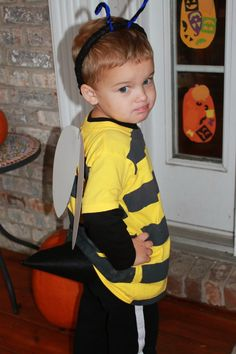 Give It a Go Mama : Bumble Bee Costume For a Little Boy
