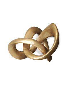 """""""Trefoil Knot"""" Sculpture at Horchow."""
