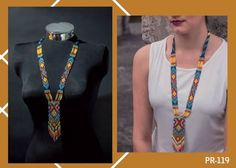 Embera Necklace. Handmade for Colombian indigenous communities de DEVIhandmade en Etsy