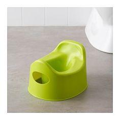 IKEA - LILLA, Nocnik,  , , Materiał antypoślizgowy pod spodem; nocniczek nie będzie się ślizgał, gdy dziecko go będzie używało.Łatwy do opróżnienia i czyszczenia.