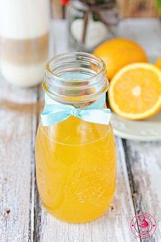 Syrop pomarańczowy - Najlepsze przepisy | Blog kulinarny - Wypieki Beaty Jam Recipes, Mason Jars, Mugs, Tableware, Blog, Canning, Marmalade, Recipies, Dinnerware