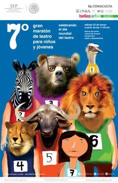 Gran Maratón de Teatro para Niños y Jóvenes