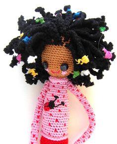 Crochet Doll Pattern  Desireè by daniandbel on Etsy, €4.98