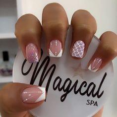Mani Pedi, Nail Inspo, Beauty Nails, Pretty Nails, Acrylic Nails, Nail Designs, Nail Art, Instagram, Tutorial Nails