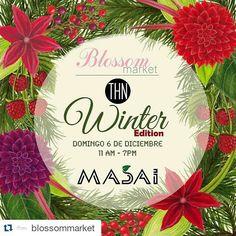 HOY HOY. HOY...MOS VEMOS EN EL @blossommarket #Repost @blossommarket with @repostapp  Blossom Market y @TheHippieNerd se unen para el Winter Edition!ESTE Domingo 6 de Diciembre en @Masaird!  Como siempre contaremos con una increíble gama de expositores super exclusivos  Excelente Música y Ambiente  Cocteles totalmente GRATIS por @CavaAlta  Christmas Cooking Show en Vivo por le reconocida Chef @CathyLemoine Fotos Navideñas Instantaneas  por @paolamorel_studiosSorpresas y Regalos para todos…