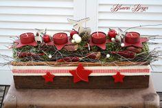 ::::+Adventsgesteck+Traditionell+::::+von+::::::::+Blumerei+Berger+::::::::+auf+DaWanda.com