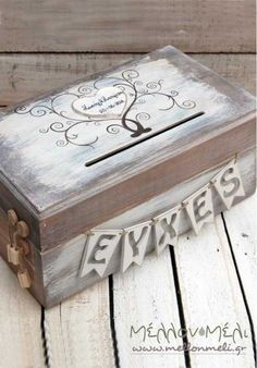 Box of wishes – Wedding Suite Wedding Favors, Wedding Decorations, Wish Box, Happy Moments, Wedding Suits, Decorative Boxes, Crafts, Home Decor, Weddings