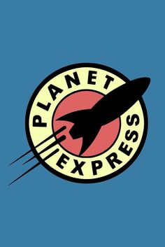 Futurama Planet Express logo wallpaper is perfect for the iPhone.