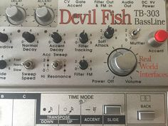MATRIXSYNTH: Roland TB-303 with Devilfish Mods