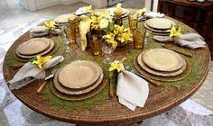 table setting idea?