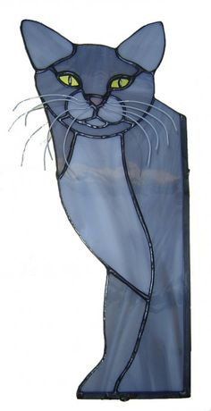 Stained Glass Cats