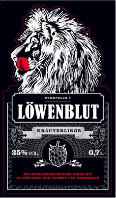 Löwenblut Liqueur Likör Düsseldorf