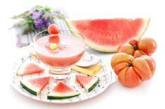 Gazpacho de sandía con Thermomix ®