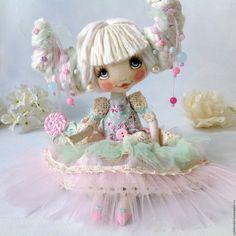 Купить Карамелька - коллекционная кукла, ручная работа, малышка, лучший подарок девушке, лучший подарок