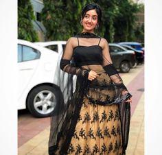Happy Ganesh Chaturthi🙏🏻❤️ ashnoorkaur I find peace amongst nature🍂 . Pakistani Fashion Party Wear, Indian Fashion, Indian Wedding Outfits, Indian Outfits, Lehenga Choli Wedding, Deepika Padukone Style, Girl Fashion, Fashion Dresses, Teen Celebrities