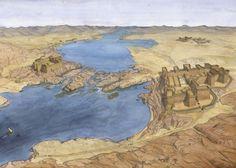 Luxor Temple, Egypt Map, Pyramids Of Giza, Machu Picchu, Turm Von Babylon, Alexandria Lighthouse, Memphis, Pyramid Of Djoser, Ancient Egypt