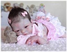 *SUGAR PLUM NURSERY* Reborn baby girl doll - ESME by LAURA LEE EAGLES - Sold Out