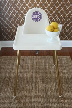 Dwellings By DeVore: IKEA highchair hack
