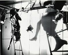 """Anna Halprin in Apartment 6, Helsinki, Finland 1965. Photo by Hank Kranzler. This is part of """"Radical Bodies: Anna Halprin; Simone Forti; Yvonne Rainer in California and New York 1955-1972,"""" on display at the Art, Design & Architecture Museum at UCSB until April 30. The opening reception is Jan. 27. http://sbseasons.com/2017/01/radical-bodies/ #sbseasons #sb #santabarbara #SBSeasonsMagazine #SBArt #UCSBADAM To subscribe visit sbseasons.com/subscribe.html"""