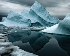 Iceberg XVIII in northern Greenland