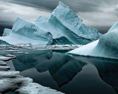 Iceberg XVIII in northern Greenland