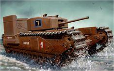 A22 Mk IV Churchill Mk III Operation Jubilee, Dieppe, France 1942