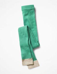 Ribbed Footless Tights C0140 Socks & Tights at Boden