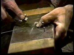 making wire gears - Arthur Ganson - YouTube