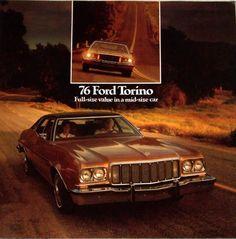   1976 76 Ford Torino original sales brochure