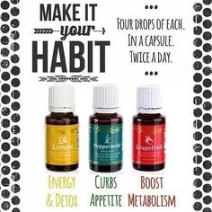 YL essential oils for weight loss! For more info or to order www.EssentialOilsEnhanceHealth.com