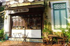 Estica : BANGKOK . FARM TO TABLE ORGANIC CAFE 曼谷 . 12人咖啡館的兩人3杯阿芙佳朵