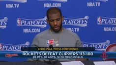 CP3 quotes Ricky Bobby: 'If you're not first you're last'