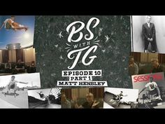BS with TG : Matt Hensley Part 1: Tommy Guerrero's show BS With TG with special guest Matt Hensley. Part… #Skatevideos #hensley #matt #part