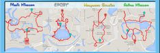 Have you ever wondered how many miles you walk at Disney World? Perimeter walking distances for all 4 parks
