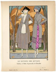 """Women 1921, Plate 055, 1921. Fashion plates, 1790-1929. The Costume Institute Fashion Plates. The Metropolitan Museum of Art, New York. Gift of Sally Victor (b17509853) 