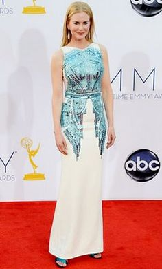 Nicole Kidman at the 2012 Emmys