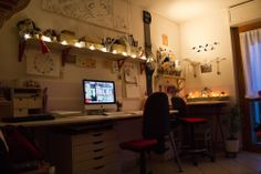 The place where I work . This is my workspace when I decide to have a break and rest with a cup of tea :) Relax mood <3 my personal workspace#1