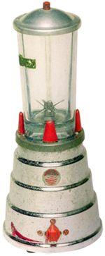 Memória da Eletricidade O primeiro misturador, protótipo dos liquidificadores, surgiu nos Estados Unidos, em 1922, para facilitar a preparação de bebidas, especialmente do milkshake, que se tornou muito popular no mundo todo e é apreciado até os dias de hoje.
