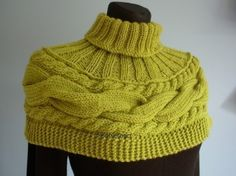 Is it a cowl - is it a sweater? How about a swowl?