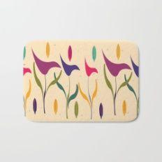 Buy this Bright Tropical Calla Lily Watercolor Impression Bath Mat