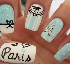 Paris nails <3