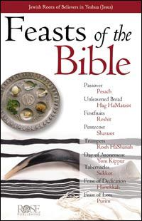 Feasts Of The Bible Pamphlet - Rose Publishing